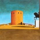 Giorgio De Chirico, Torre rossa (1913).