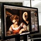 Riproduzione del Caravaggio trafugato in mostra a Palermo