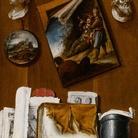 Bernardo Lorente Germán (1685 - 1757), Trompe l'oeil, Tabacco. Allegoria dell'Olfatto, Louvre