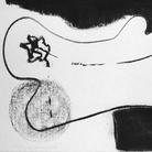 Živa Kraus, Impronta, 1972, Disegno carbone | Courtesy of Živa Kraus e Ikona Photo Gallery, Venezia