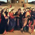 Raffaello Sanzio, Lo Sposalizio della Vergine, 1504, Pinacoteca di Brera, Milano