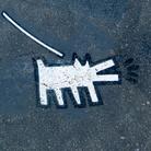 Walking the Keith Haring Dog in Duboce Park, Stencil, San Francisco, 2014 | Foto: Courtesy torbakhopper via Flickr