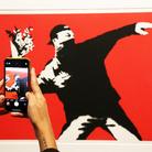 Attenti a Banksy, nel cuore di Roma