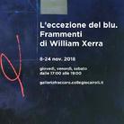 L'eccezione del blu. Frammenti di William Xerra