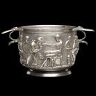 Priamo e Achille, Coppa d'argento romana, I secolo d.C., Museo Nazionale di Danimarca | Foto: Roberta Fortuna e Kira Ursem | © National Museet Denmark