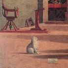 Vittore Carpaccio (1465 circa - 1525/1526), La visione di Sant'Agostino, 1502-1507, Venezia, Scuola Dalmata SS. Giorgio e Trifone