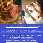 La ceramica dal vivo al Museo Paparella Treccia