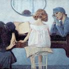 Ettore Berldini, La canzone del Piave o Inno al Piave, 1929, Olio su tela, Inv. N. D0047, Collezione della Fondazione Cariverona. Archivio fotografico della Fondazione Cariverona