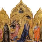 Lorenzo Monaco, Trittico dell'Annunciazione, 1408, Pittura su tavola, Firenze, Accademia di Belle Arti