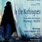 Marwan Nahlé. In the Nothingness