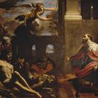Carlo Bononi, San Ludovico scongiura la peste, 1632, Olio su tela, 180 x 140 cm | Courtesy of Palazzo dei Diamanti, Ferrara, 2017