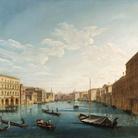Pietro Bellotti, Il Canal Grande verso sud con palazzo Moro Lin, cm 129,5 x 136,7. Ginevra, collezione privata