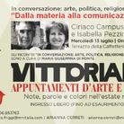 Conversazioni d'Arte al Vittoriano - Ciriaco Campus e Isabella Pezzini. Dalla materia alla comunicazione