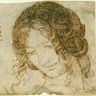 Leonardo da Vinci, Studio per l'acconciatura di una donna, 1504-1506 circa, Penna e inchiostro su carta bianca, 112 x 92 mm, Windsor Castle, Royal Library