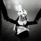 Ferdinando Scianna (Bagheria, Palermo, 1943), Italia, Sicilia, Enna. Processione del Venerdì Santo, 1963, Stampa ai sali d'argento | © Ferdinando Scianna | Courtesy of GAM, Torino 2018