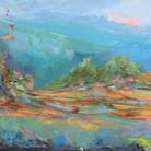 Paolo Salvati, Sogno di primavera, 1974. Olio su tela, cm 60 x 70