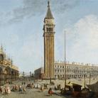 Michele Marieschi, Piazza San Marco, olio su tela, 57 x 85 cm. Milano, collezione privata