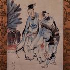 Katsushika Hokusai, Manzai Performers | Courtesy of Sumida Hokusai Museum, Tokyo 2017