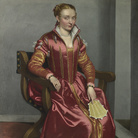 Giovanni Battista Moroni, Lucia Albani Avogadro, detta La Dama in Rosso, 1554-1557, Olio su tela, 106.7 x 155 cm, The National Gallery, London | Foto: © The National Gallery, London