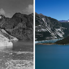 Sulle tracce dei ghiacciai, Alaska, Muir Glacier 1941-2013 | William Osgood Field, 1941 - © National Snow and Ice Data Center + Fabiano Ventura, 2013 - © Fabiano Ventura