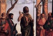 immagine di Giovanni Battista tra i Santi Marco, Girolamo e Paolo
