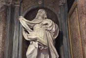 immagine di Statue di Santa Teresa e Santa Cristina