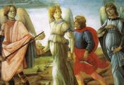 immagine di Tre arcangeli e Tobiolo