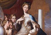 immagine di Madonna dal collo lungo (Madonna col Bambino, angeli e un profeta)