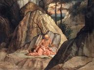 immagine di San Gerolamo penitente nel deserto