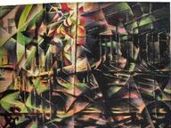 immagine di Costellazioni del genio: composizione futurista