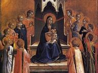 immagine di Madonna col bambino e dodici angeli