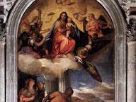 immagine di Madonna in gloria con Bambino e Santi