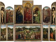 immagine di Adorazione dell'Agnello Mistico, Jan Van Eyck