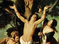 immagine di San Sebastiano curato dalle Pie Donne