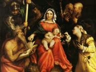 immagine di Sposalizio mistico di Santa Caterina e santi