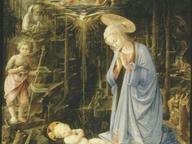 immagine di Adorazione del Bambino con i santi Giovanni Battis