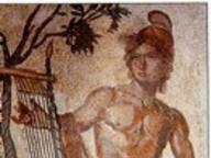 immagine di Mosaico con Orfeo