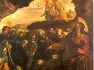 immagine di San Rocco risana gli appestati