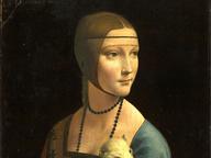 immagine di Dama con l'ermellino