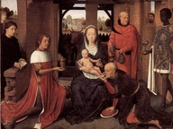 immagine di Trittico dell'Adorazione dei Magi o di Jan Floreins, Hans Memling