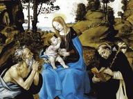 immagine di Madonna col bambino e Santi Girolamo, Battista, Gregorio e Andrea