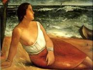 immagine di Donna al mare