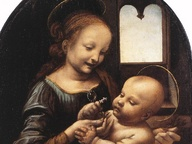 immagine di Madonna Benois
