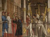 immagine di Miracolo della reliquia della Croce al ponte di Rialto