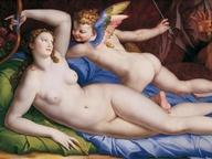 immagine di Venere, Cupido e Satiro