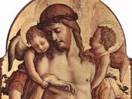immagine di Il Cristo morto sorretto da due angeli