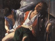 immagine di San Rocco e l'angelo