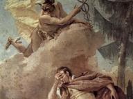 immagine di Mercurio ordina ad Enea di lasciare Cartagine