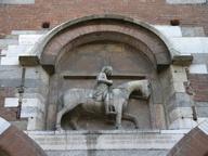 immagine di Oldrado da Tresseno a cavallo