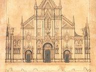 immagine di Progetti per la facciata della chiesa